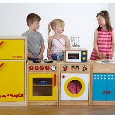 role play wooden kitchen set
