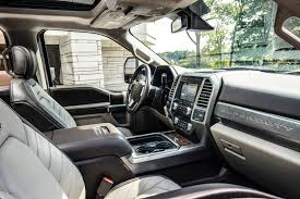 imagine opening the door to your humidor and sinking into your favorite leather lounge chair that s the sensation new super duty limited inspires ford