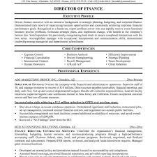 Finance Resume Templates Senior Clerk Sample Resume Criminal