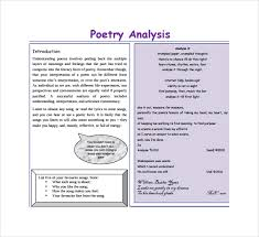 poetrys analysis template poem template and example the best  how to analyze an essay techniques in essay writing