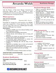 Professional Resume Template 2018 Cool Real Estate Manager Resume Examples 28 Resume 28