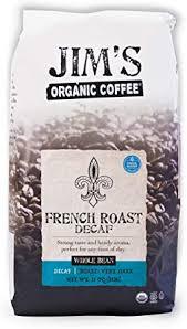 Maud's decaf dark roast coffee (decaf tall dark & handsome), 100ct. Amazon Com Jim S Organic Coffee French Roast Decaf Dark Roast Whole Bean 11 Oz Bag Health Personal Care