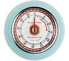 Retro Kitchen Wall Clocks Buy Eddingtons Retro Magnetic Kitchen Timer Blue Free Delivery