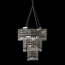 image of acrylic chandelier beads elegant