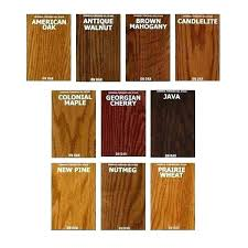 Mahogany Stain Color Chart Sikens Stain Acal Com Co