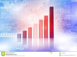 Investment Charts And Graphs Financial Charts And Graphs Stock Illustration