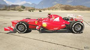 The most popular cheat codes!! Ferrari F1 For Gta 5