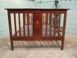 edwardian mahogany bedroom furniture. antique edwardian mahogany inlaid double bed bedroom furniture