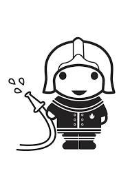 Kleurplaat Brandweerman Afb 18180 Images