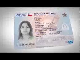 Identidad Cedula De En Chile Valor