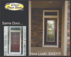 single exterior doors with glass. Fine Glass Add Wrought Iron Insert To A Single Front Door In Tampa Home Matching  Inside Single Exterior Doors With Glass