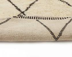 folded round rugs white moroccan