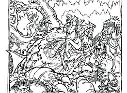 Dragon Coloring Pages For Adults Pdf Difficult Hard Page Colouring