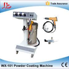 wx 101 electrostatic spray powder coating machine spraying paint wide range of s