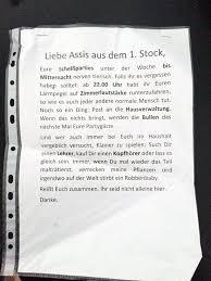 Scheiss Parties Nachbarn Berlin Hausgemeinschaft Notes Of Berlin