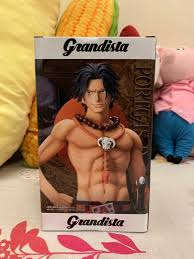 <b>Banpresto Grandista</b> One Piece Portgas D Ace Toreba Japan Gold ...