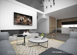 Living Room And Kitchen Minosa Design The Modern Living Room Kitchen Lounge Dine