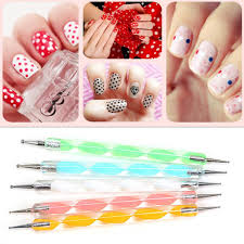 5Pcs Dotting Pen Nail Art Tools Decoration Manicure Tools Painting ...