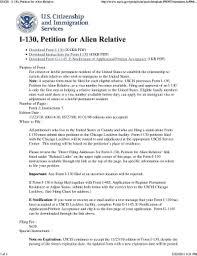 uscis form i 130 uscis forms i 130 templates fillable printable samples for pdf