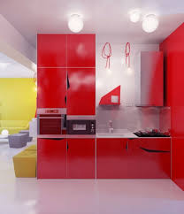 Red And Yellow Kitchen Kitchen Marvelous Red Kitchen Decor Combined With White