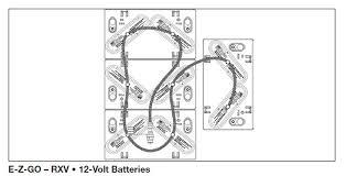 Ezgo Battery Installation Diagram Ezgo RXV Wiring Schematic