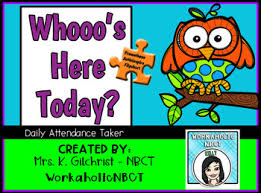 Whos Here Today Chart Whos Here Today Worksheets Teaching Resources Tpt