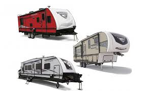 winnebagolife towable rvs paring travel trailers fifth wheels toy haulers