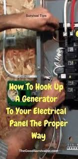 107 best electrical images in 2019 bricolage electrical survival tips the following videos will show you how a generator is connected to your