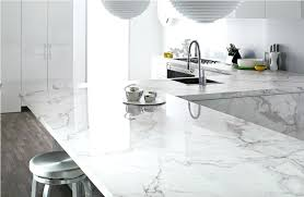 cleaning white marble countertops