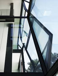 fantastic modern house lighting. Here\u0027s The Upper Prism Structure Of External Glass Wall. Angular Design Refracts Light Fantastic Modern House Lighting S