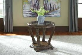ashley furniture round end tables signature design by living room table 6 at company