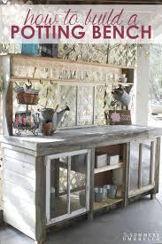 Potting Benches Best 10 Potting Benches Ideas On Pinterest Potting Station