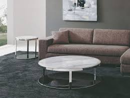 Modern Marble Coffee Table Furniture Majestic Marble Living Room Coffee Table On White Fur