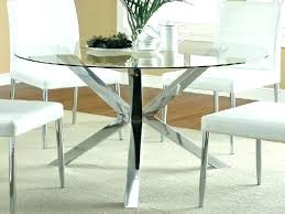 round glass and oak dining table glass top oak dining table round glass dining table fashionable