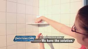 luxury installing shower shelf on already tiled wall a corner existing tile you recessed built