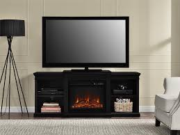 Amazon.com: Ameriwood Home Manchester Electric Fireplace TV Stand for TVs  up to 70