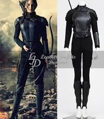 the hunger mockingjay 2 womens leather cosplay main