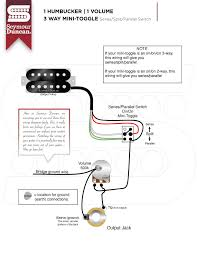 humbuckers seymour duncan part 13 1 pickup 1 volume 1 tone wiring at 1 Humbucker 1 Volume 1 Tone Wiring Diagram