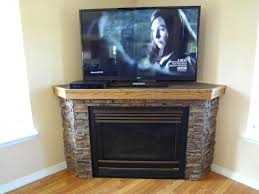 faux fireplace heater tv stand decoration inspiring modern corner portable electric fireplace design with faux stone fireplace mantel ideas as well as