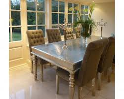 Beautiful White Metal Dining Table 42 Dining Space Good Silver Dining Room:  Small Size ...