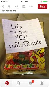 gummy bears gift for valentine s day