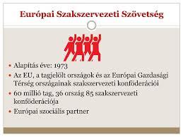 """Képtalálat a következőre: """"Európai Szakszervezeti Szövetsége"""""""