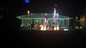Fayette County Christmas Lights Mount Mckinley Way Home Is A Christmas Lights Favorite In