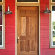 barn style front doorGooseneck Wall Lighting for Farmhouse Chic Style in Texas  Blog