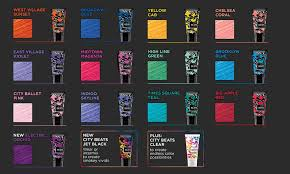 Redken Permanent Hair Color Chart City Beats Bold Semi Permanent Haircolor Redken