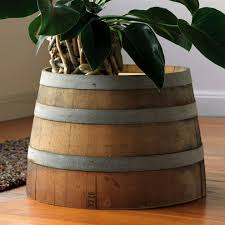 Wine barrell furniture Wood All Gifts Considered Wine Barrel Table Home Décor Vivaterra