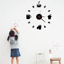 Small Picture Online Buy Wholesale coffee cup clock from China coffee cup clock