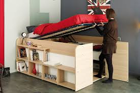 furniture with storage space. Storage Bed - Closet Combination Under Furniture With Space