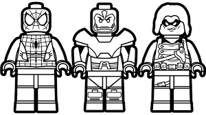 Lego Spiderman Coloring Pages Coloring Pages