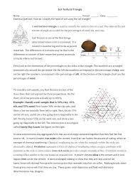 Soil Percentage Chart Soil Textural Triangle